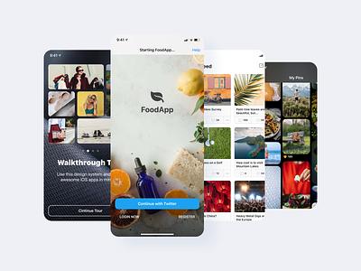 Full iOS 15 UI Kit icon interface screen system design android iphone ios15 ios dark light figma mobile ux ui