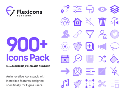 Flexicons for Figma