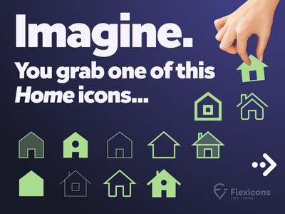 Flexicons for Figma: an innovative icons pack. vector graphics icons duotone stroked filled icon flexible figma icons set android ios product design branding mobile webdesign illustration design ux ui icon