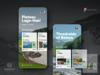 Travel App - Trip Detail, rebounded with Polymer