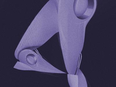 Ballet robot illustration drawing