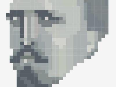 Money. money pixel illustration