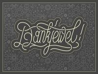 Dankjewel - Thank You Card