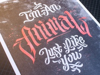 I'm an Animal just like you - A3 Riso Print