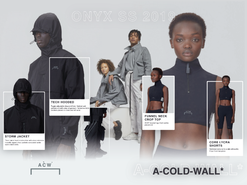 A Cold Wall - Editorial concept visual experiment fashion samuel ross editorial user experience user interface design