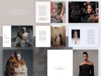 Editorial design - High End Fashion