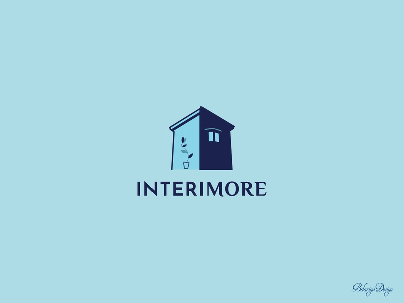 Interimore logo design logo design branding logo graphic design illustration design vector illustrator