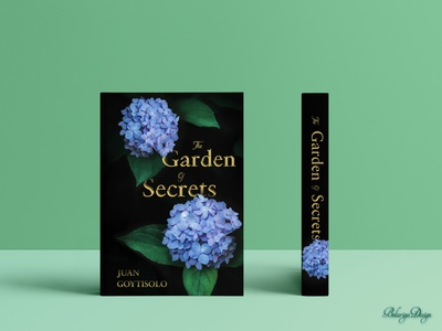 Book Cover - The Garden of Secrets product design print mood colors book cover design freelance design graphic art color theory adobe photoshop adobe design inspiration typography design graphic design book cover
