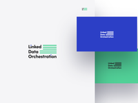 Linked Data Orchestration logotype and brand identity