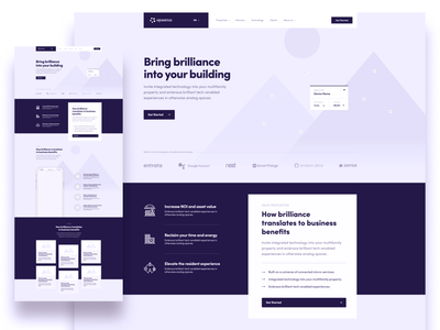 high fidelity desktop wireframes homepage navigation cards logos devices building smart mobile layout grid smart home stylish wireframe landing page ux wireframes desktop website fidelity hi-fi