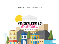 #Digitized15 Athens Dribbble Meetup