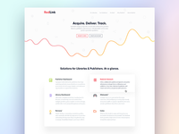 Saas Company Homepage