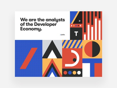 Key Visual Identity /data categories series brand art-direction geometric slash branding shapes styleguide geometry data cover