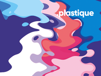 Plastique / abstract vector cover