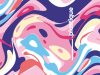 Plastique IV / abstract vector cover