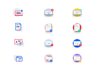GDPR compliance icons process