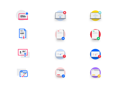 GDPR compliance icons process download password-key legal eu protection icon-design iconography direction regulation-policy data-protection ui-icons gdpr-compliance
