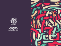 Afrika / Fusion Cuisine Logo