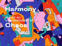 Harmony in Chaos / Cover illustration