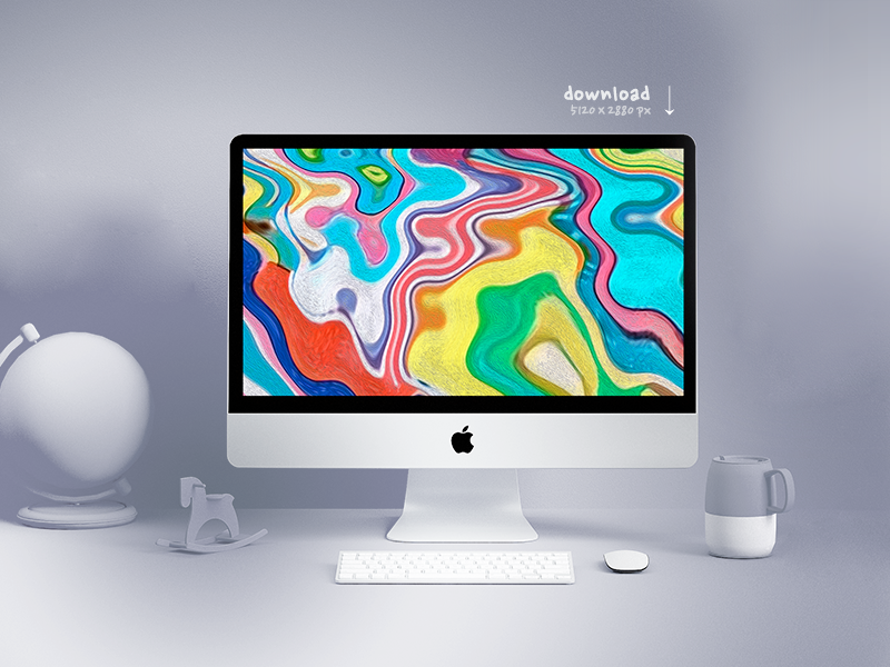 Free Digital Art 5k Wallpaper Download By Christos On Dribbble