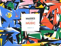 Masses for the music / teaser illustration