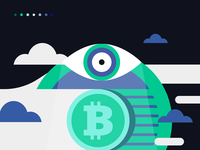 Cryptocurrency brand/illustration direction