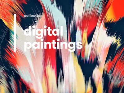 Digital art paintings 2019