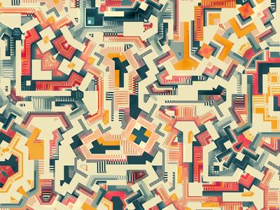 Tech paths / Digital illustration II