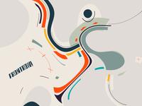 Frontrow / digital illustration