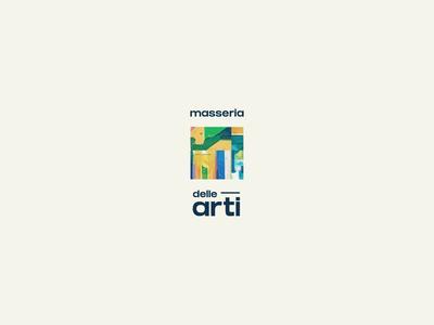 masseria delle arti logo & branding