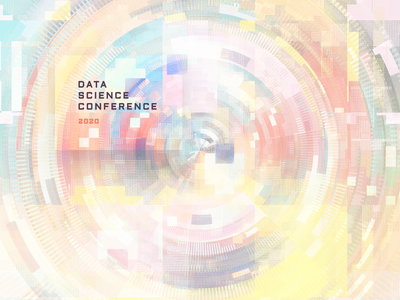 data science conference 2020 visual direction algorithm big data developers group speakers meetup data science cover information design chart analytics illustration visualization community data viz visual design art direction conference science data