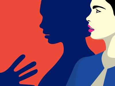 Nubefy Feminism Collection 2018 shutterstock digital art vector design nubefy feminism woman women violence powergirl mansplaning illustration feminist abuse