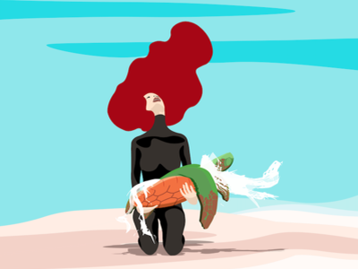 It's Time to Change climate climatechange polution illustration design typography nubefy