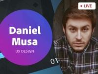 Adobe Live | UX Design | Daniel Musa