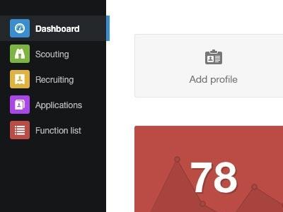 App menu menu app dashboard