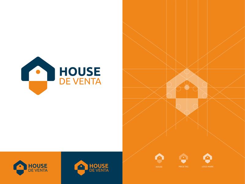 House De Venta Logo real estate agency real estate home logo logo design concept house logo symbol monogram concept logo designer logo vector brand identity logo design modern logo design best logo designer logotype creative logo realestate branding logodesign