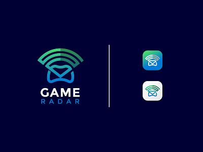 Game Radar Logo Design Concept modern logo logo designers logodesign logo designer minimal app icon app logo game logo mark concept vector symbol monogram logo design branding creative logo logotype