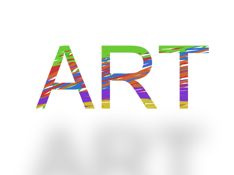 Finding Art Within Art creative vibrance typography art