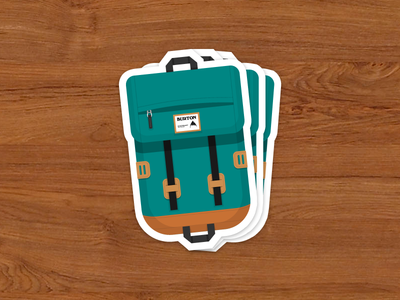 Burton Tinder Pack Stickers (not actual stickers yet)