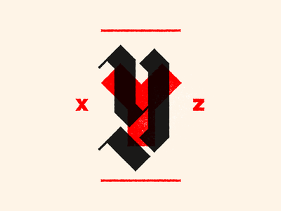 The Letter Y by Aaron Tenbuuren Dribbble