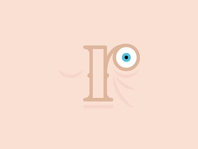The Letter r face eye aaronsalphabet alphabet typography type lettering r letter