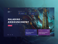 Renegades Website Concept