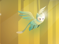 Owl Mythical Creature Illustration