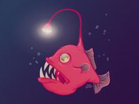 A for Anglerfish
