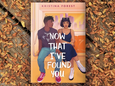 Now That I've Found You young adult romance subway nyc illustration character design character illustration cover illustration book illustration cover artwork book cover