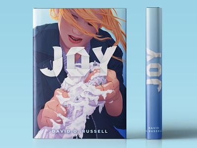 J.Law Library - Joy custom type lettering type book cover design cover design joy book illustration cover illustration book cover illustration j law jennifer lawrence