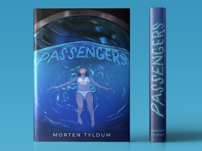 J.Law Library - Passengers outer space space chris pratt character design character illustration movie poster mondo cover illustration book cover sony jennifer lawrence jlaw lettering illustration