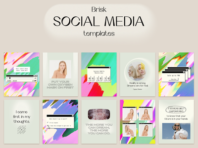 Social Media Template -  Background Textures background textures blogger template branding art direction visual design canva template layout instagram feed inspirational quotes old school design instagram story social media graphicdesign instagram post brand identity branddesign instagram template illustration quote design