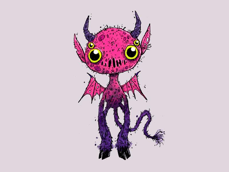 Cute demon