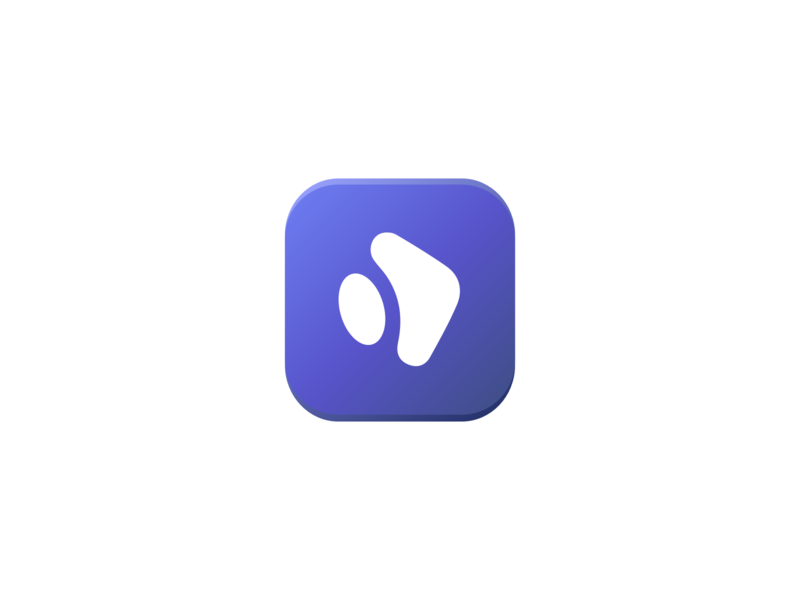 Impresso App video app app store app logo app icon